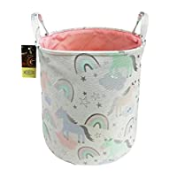 HUNRUNG Easter Gift Basket Large Laundry Hamper,Cartoon Organizer Bin for Baby Nursery,Toys,Laundry,Baby Clothing,Gift Baskets