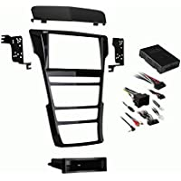 Metra 99-3018HG Single and Double DIN Dash Installation Kit for 2008-2015 Cadillac CTS Vehicles - High Gloss Black