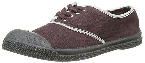 Bensimontennis Shinypiping - Zapatillas de Deporte Mujer, Morado (Violet(414 Aubergine)), 40