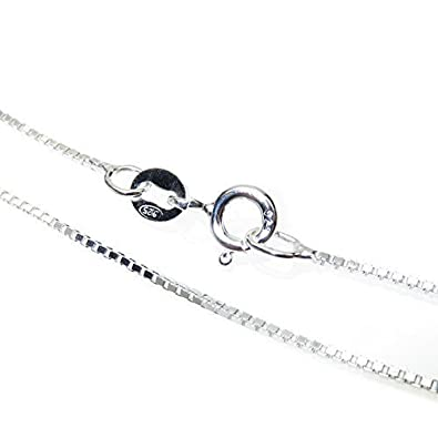 Sterling SIlver Chain for Children - 4 to 12 years old - Length: 14 inch / 36 cm onvO02