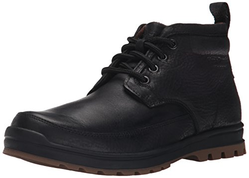 Hush Puppies Men's Dutch Abbott Chukka Boot, Black, 12 M (Hush Puppies Mens Boots)