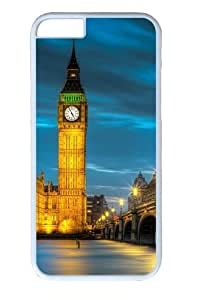 Amazing Belfry night PC Case Cover for iphone 6 plus and iphone 6 plus 5.5 inch White