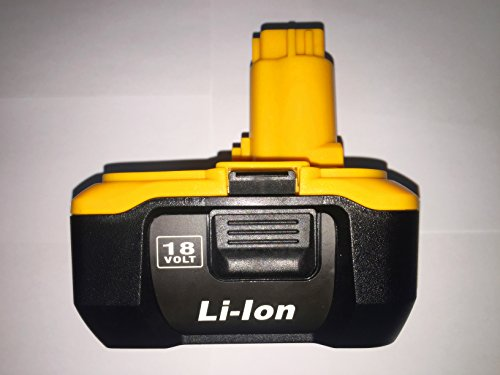 1 Pack New Replacement Lithium-Ion Battery Pack for DEWALT DC9180 DC9096 18 -Volt 3.0Ah Using Charger Dc9310 Cordless Tools Drills Battery Batteria -  EIGHT-HORSES