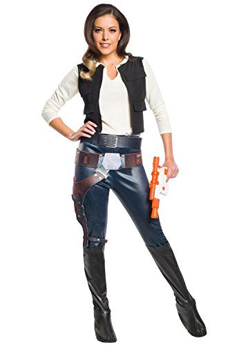 Rubie's Women's Star Wars Classic Han Solo Adult Costume, Small ()