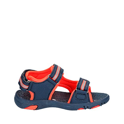 Lico Jungen Crispy V Geschlossene Sandalen Blau (Marine/Orange)