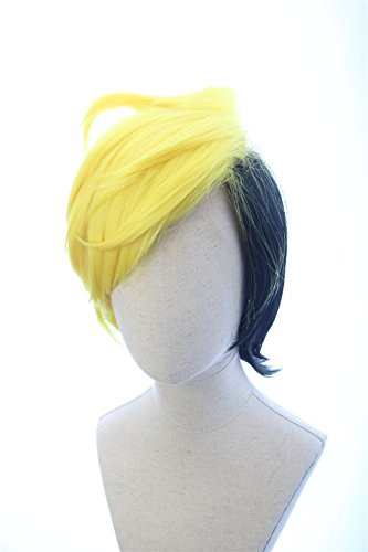 Soul Wigs: Brown Short Flapper Bob Anime Cosplay Pidge Adult Wig Inspired by Voltron]()