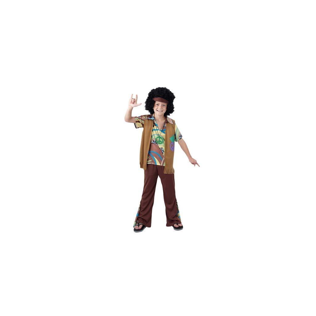 DISFRAZ Hippie niño TALLA 7-9 AÑOS - 7-9 Años: Amazon.es: Juguetes ...