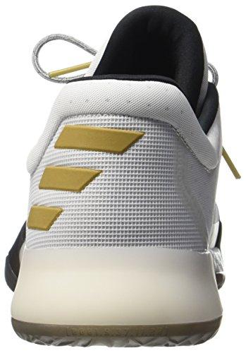 adidas Harden Vol. 1, Scarpe da Corsa Uomo Bianco (Ftwbla/Negbas/Dormet)
