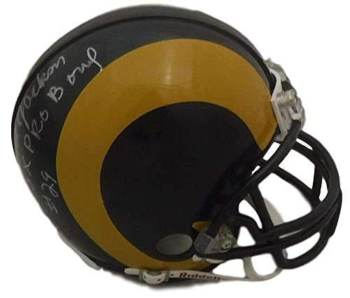 Harold Jackson Autographed Mini Helmet - TB 5x Pro Bowl 15064 - Autographed NFL Mini Helmets ()