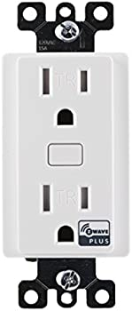 GE Z-Wave Plus Tamper Resistant Receptacle Outlet