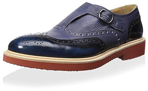 Dino-Bigiono-Mens-Casual-Wingtip-with-Buckle