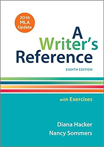 Amazon.com: A Writer's Reference with Exercises with 2016 MLA ...