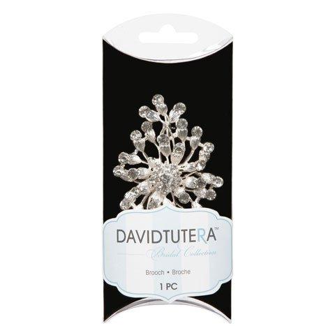 David Tutera Bridal Pin - Burst Spray - Crystal Rhinestone
