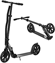 CITYGLIDE C200 Kick Scooter for Adults, Teens - Foldable, Lightweight, Adjustable - Carries Heavy Adults 220LB