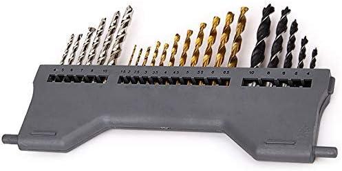 LHQ-HQ 70Pcs Combined Twist Drill Concrete Drill Bit Drill Bit Drill with Sleeve Kit Impact Drill Bit