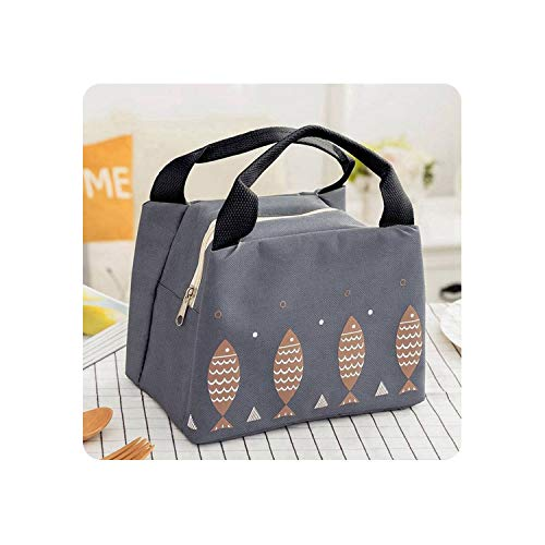 Lunch Bag Portable Insulated Thermal Cooler Lunch Box Tote Picnic Storage Pouch Lunch Bag Cute Cartoon Food Bag,3
