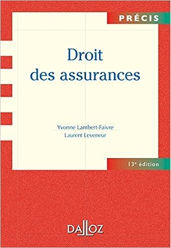 Livres gratuits Droit des assurances - 13e éd.: Précis epub pdf