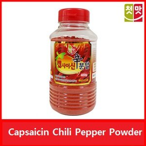 Korean Food_Chungwoo_Capsaicin Chili Pepper Powder_14.1oz(400g)_Hot Spicy Dressing for Korean Sauce