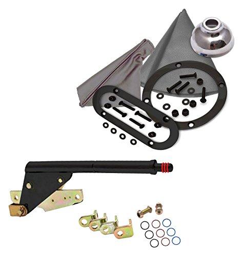 American Shifter 398195 C6 Shifter 8 E Brake Trim Kit for D580F