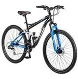 "29"" Mongoose Ledge 3.1 Men's Mountain Bike, Black/Blue"