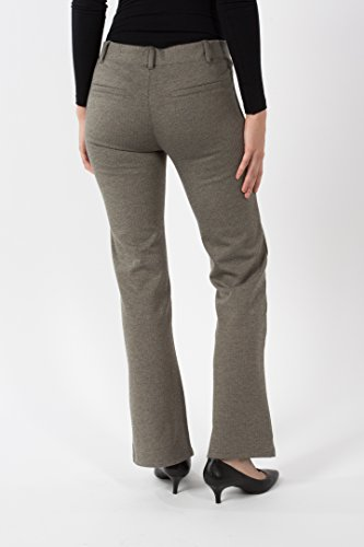 168f4a10c7d77 Betabrand Women's Dress Pant Yoga Pants (Boot-Cut) XS-Petite Tan  Herringbone: Amazon.com.au: Fashion