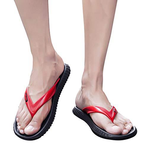 06de1faeca5bc Simayixx Women's Flip Flop Casual Lightweight Beach Sandal or Shower Shoes  Men Classic Unisex Clog Summer
