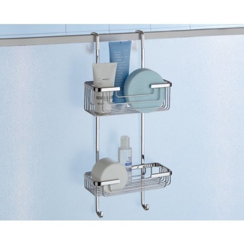 Complements Hanging Shower Rack 2 Tier 5683-13 by Gedy