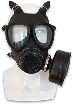 Sooiy Carbón Activado Máscara de Gas filtrado Militar Seguridad mascarilla filtra Cara Completa de Ajuste vapores pesticida formaldehído partículas de Gas tóxicos