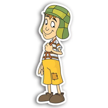 El Chavo Del 8 Ocho Party Decorative Topper Xlarge 10 Inches High! 12 in Package Centerpiece Cake Topper Assorted