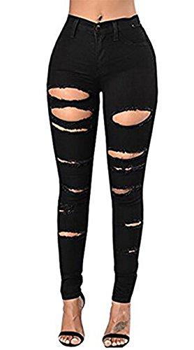High Waist Trouser Jeans - 5
