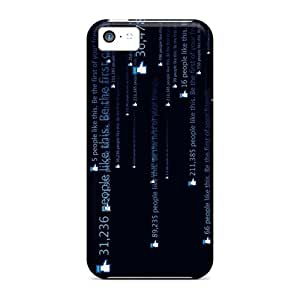 Tough Iphone ZbIzNvy7850GCOXY Case Cover/ Case For Iphone 5c(facebook)