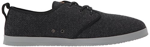 Reef Mens Landis Tx Fashion Sneaker Nero / A Spina Di Pesce