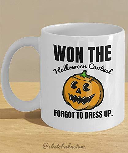 Halloween Costume Dress Up Meme Mug Gifts //