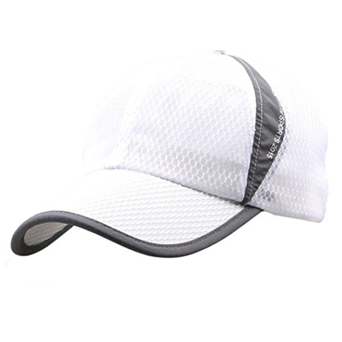- Boomboom Baseball Caps, Holiday Outdoor Sunshade Sun Hat Quick-Dry Ventilation Baseball Cap (White)