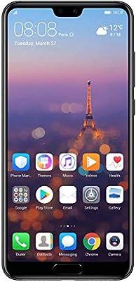 Huawei P20 Pro Dual SIM - 128GB, 6GB RAM, 4G LTE, Black