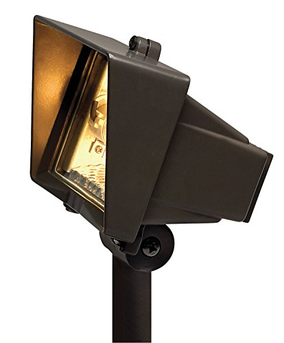 Hinkley Lighting 57000BZ 120V Line Voltage Flood Light, 75 Watt Maximum Mini Can Halogen Light Bulb, Bronze
