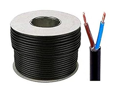 TWIN AND EARTH ELECTRIC CABLE 1mm 1.5mm 2.5mm 6mm 10mm SHOWER CABLE COOKER WIRE