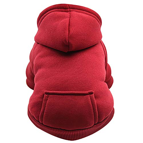 Used, Haihuic Pet Dog Hoodies Cotton Clothes Puppy Cat Warm for sale  Delivered anywhere in Canada
