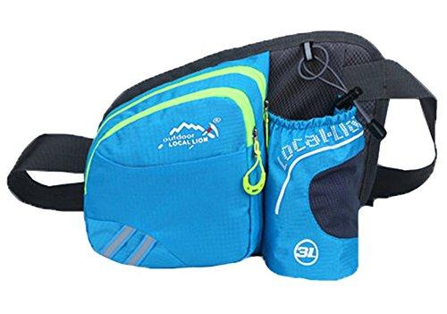 Application Outdoor Travel Sports Pack Blue Bag Unisex Baymate Light Waist vIxw5nOq