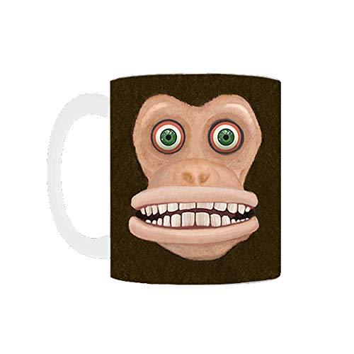Maniacal Monkey Mug (11oz, White)