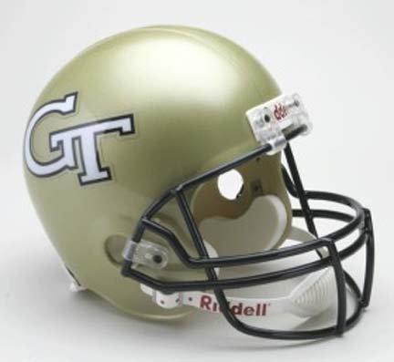 Riddell Georgia Tech Yellow Jackets Deluxe Replica Helmet