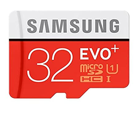 Samsung EVO Plus Class 10 32   GB MicroSD 80 MB/S Memory Card with SD Adapter  MB MC32D  Micro SD Cards