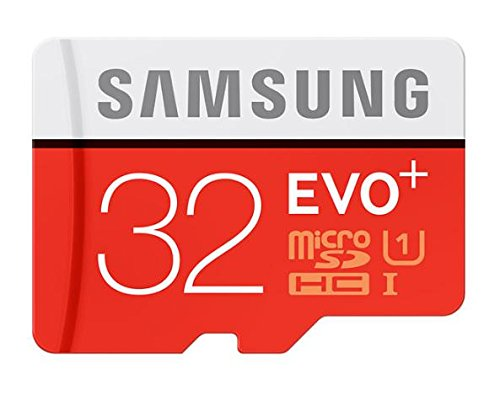 (Samsung 32GB EVO Plus Class 10 Micro SDHC with Adapter 80mb/s (MB-MC32DA/AM))
