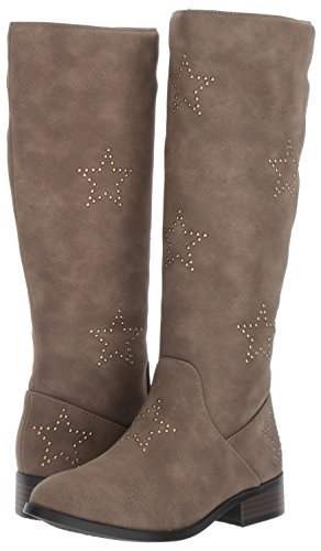 Pictures of Steve Madden Girls' JSTANDOUT Fashion Boot Taupe JSTA01S7 4
