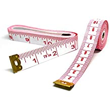 Soft Measure Tape Measuring Sewing Tailor Flexible Cloth Ruler Body Measurement 79 inch 200cm Pack of 2