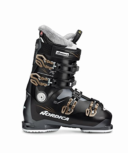 Nordica Sportmachine 75 Ski Boot - Women's Anthracite 23.5