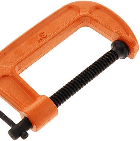 調節可能な クランプツール G型木工クランプ 固定工具 全3サイズ - 3インチ