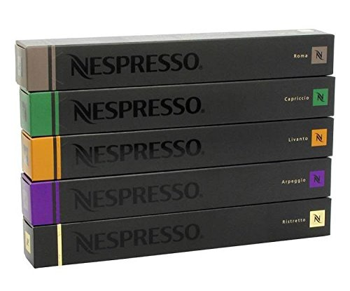 Nespresso Variety Pack 200 Capsules for Original line by Nespresso