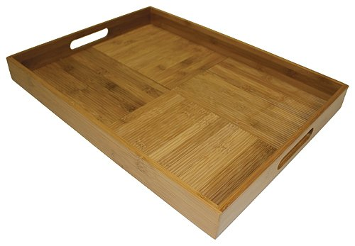 Large Bamboo Serving Tray - Simply Bamboo Large (20