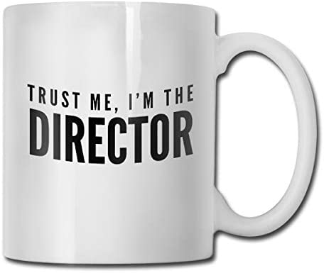antspuent Trust Me,I'm The Director Funny Coffee Mug - 11 Ceramic Coffee Cup - Best Gifts Idea for Christmas, Valentine and Birthday, Father's Day and Mother's Day Cup